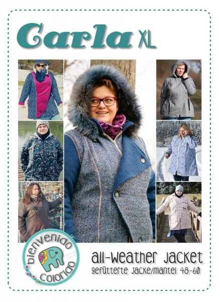 All-weather Jacket Carla XL in großen Größen
