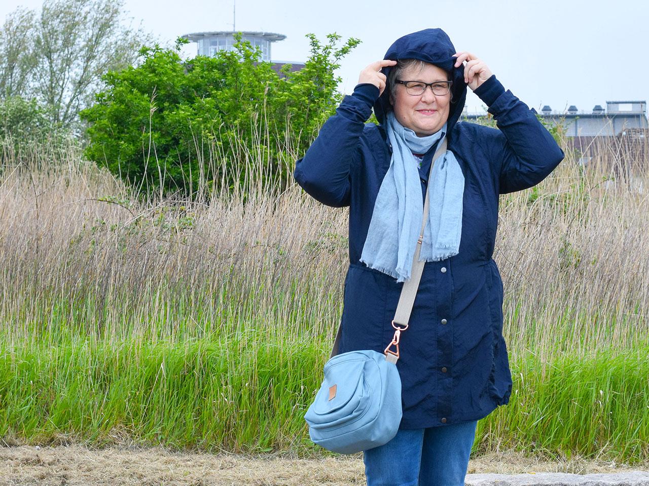 Frische Brise - der richtige Parka für fast alle Jahreszeiten - Plus Size Sommerparka nähen