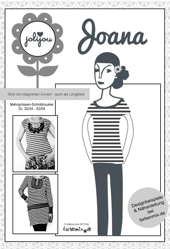Schnittmuster Joana - Kleid und Top für den Sommer