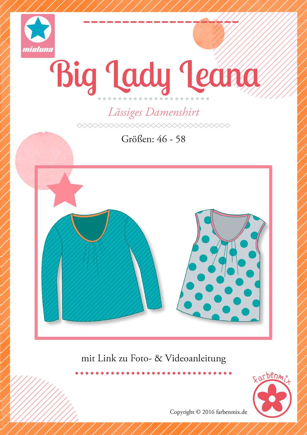 Big Lady Leana - XXL-Schnittmuster Sommertop