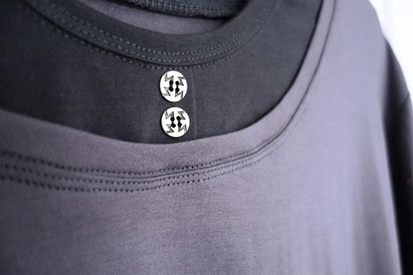 Neuen Halsausschnitt in ein Shirt nähen