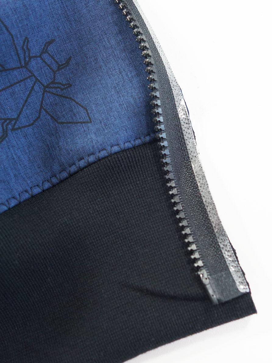 Reißverschluss mit Stylefix einkleben
