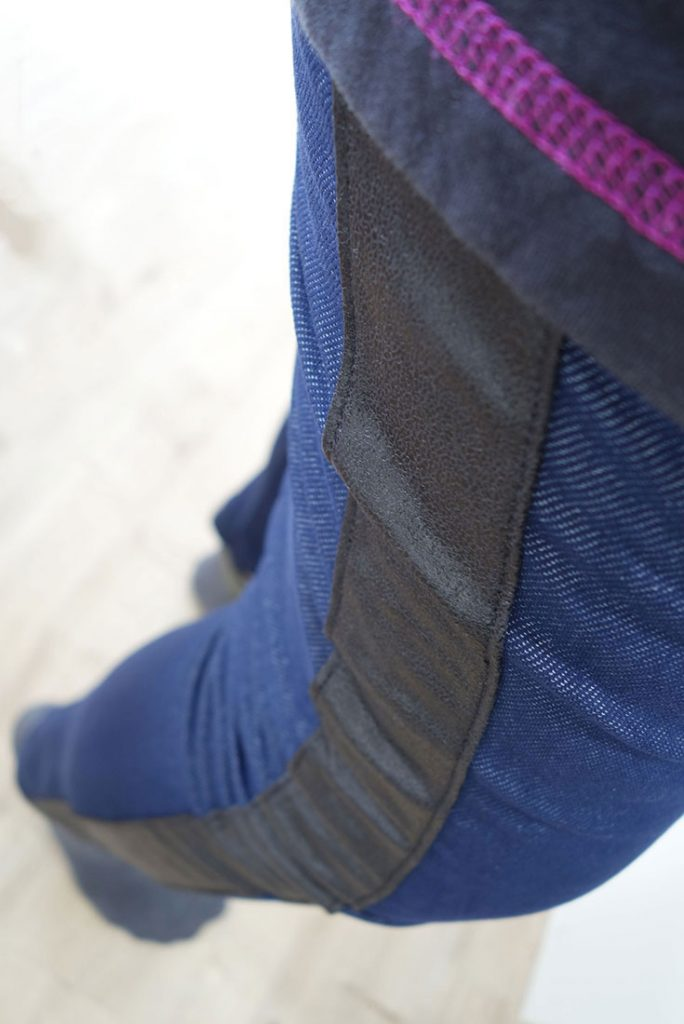 Hose mit seitlichen Streifen nähen