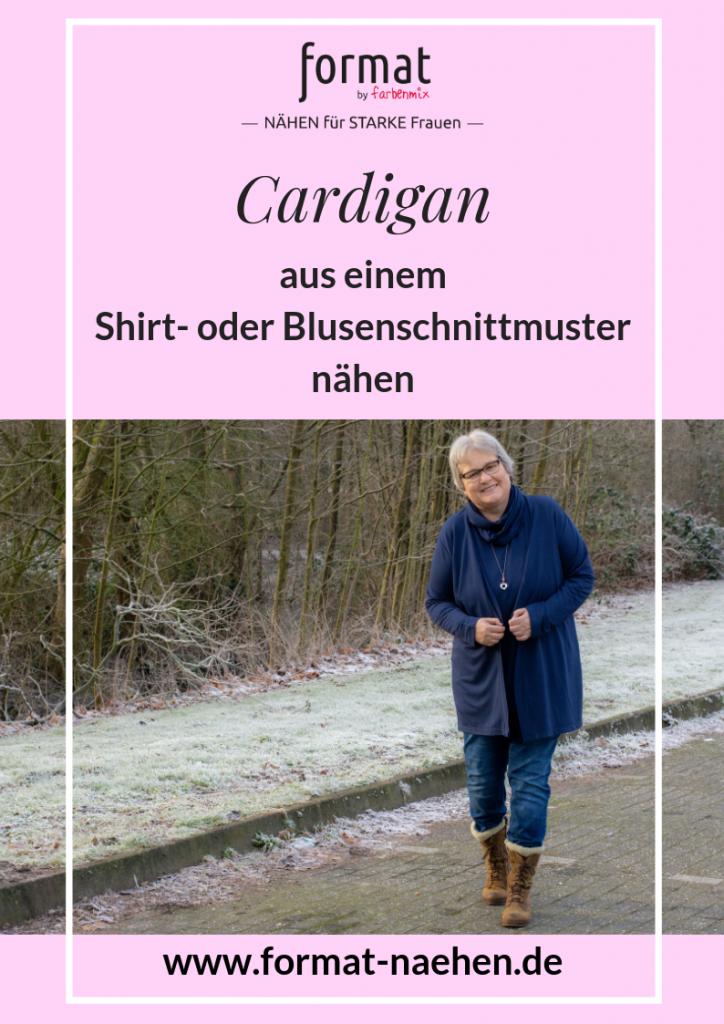 Workbook und Anleitung für einen Cardigan