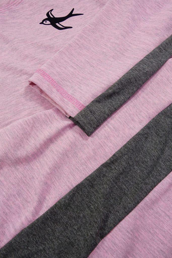 Sportliches Shirt mit Seitenstreifen nähen
