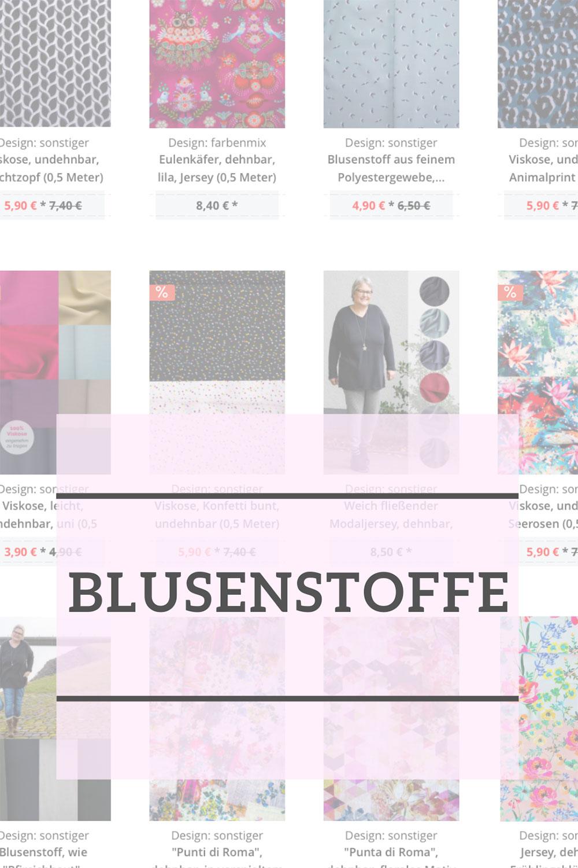 Stoffe für Blusenshirts bei Farbenmix.de