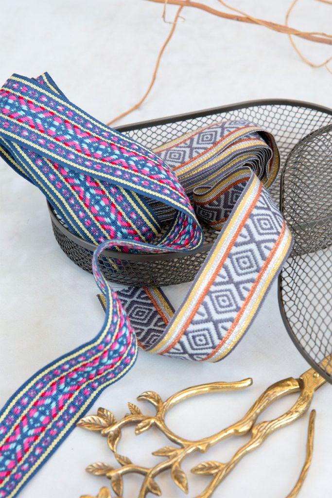 Jaqurd-Bänder im exklusiven Design von Farbenmix.de