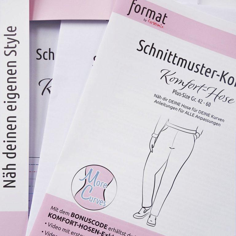 NEU: Schnittmuster-Konzept Komfort-Hose