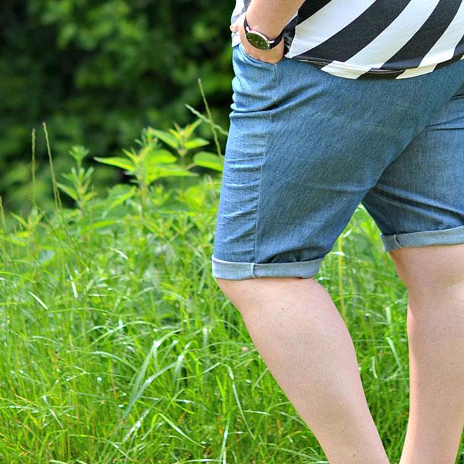 Kurze Hosen – Sarah hat sich jetzt endlich getraut