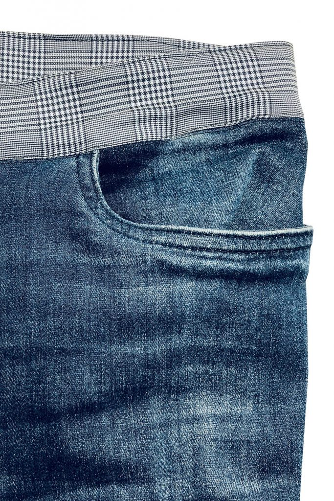 Bund an einer Jeans ersetzen
