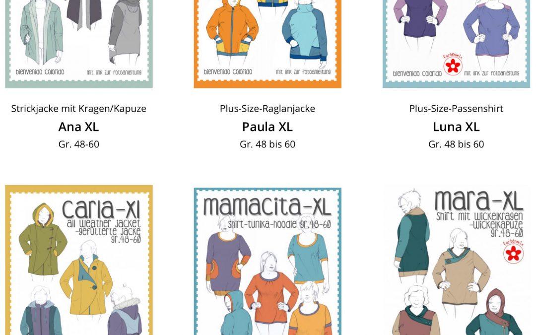 Plus Size Schnittmuster: Designerin Nelli von Bienvenido Colorido