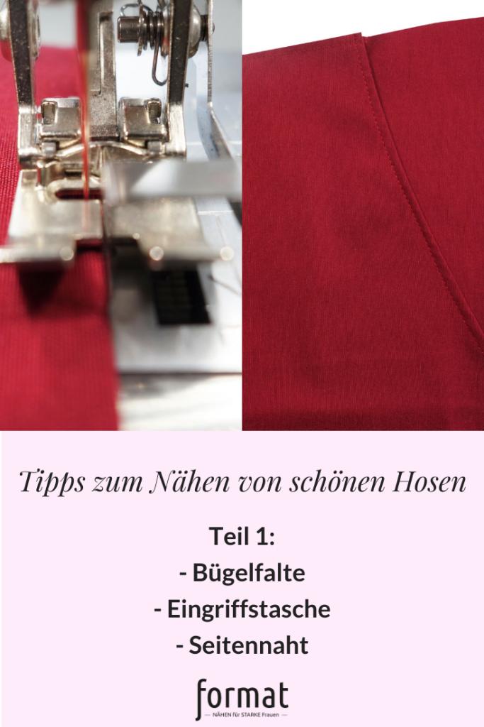Tipps zum Nähen von schönen Hosen