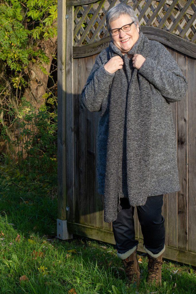 Mantel aus Wollstoffen unkompliziert nähen