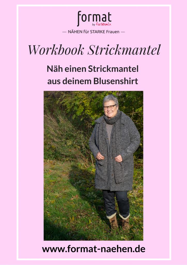 Workbook Strickmantel selber nähen