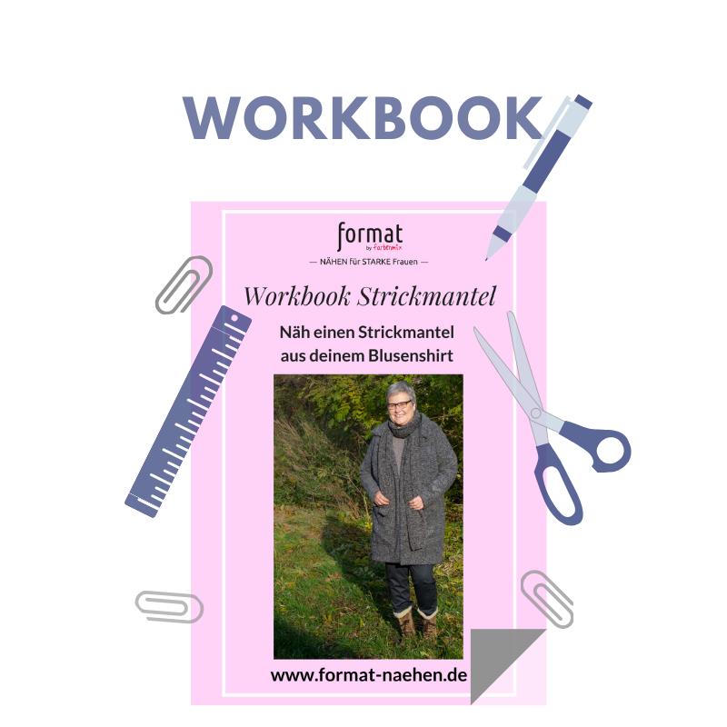 Workbook für einen Strickmantel
